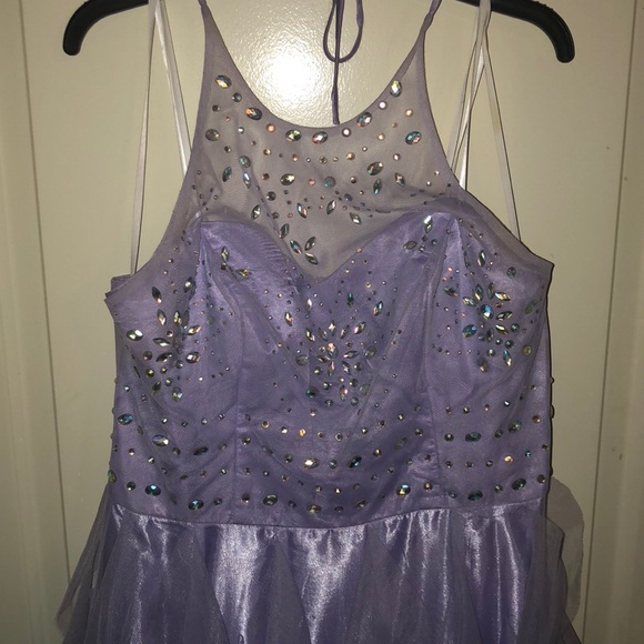 Dresses Purple Sparkles Prom Dress Poshmark